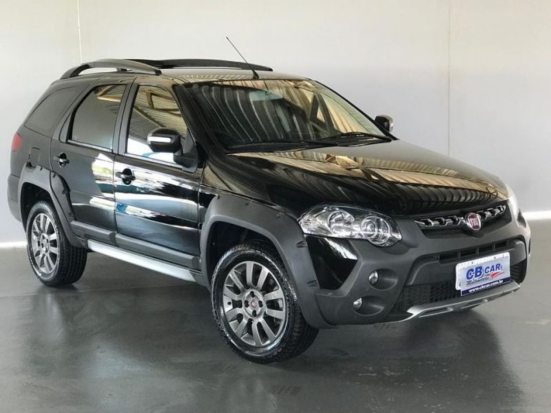 FIAT   PALIO WEEKEND ADVENTURE FLEX (2016/2016)   Consulte